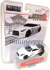 JADA JDM TUNERS 14036 2009 NISSAN SKYLINE GT-R R35 1/64 DIECAST MODEL CAR WHITE