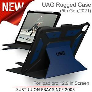 "UAG Rugged Metropolis Cobalt Blue Flip Cover For iPad Pro 12.9""(5th Gen,2021)"