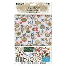 NEW Tim Holtz Idea-ology Christmas Worn Wallpaper