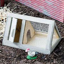 Miniature Dollhouse FAIRY GARDEN - Chicken Coop Small - Accessories