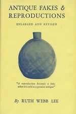 Reproduction Fake Antique Glass - Patterns Makers / Scarce In-Depth Book