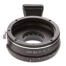 Built-in Aperture Canon EF EOS Lens to M4/3 Micro 4/3 Camera Tripod Adapter GF5