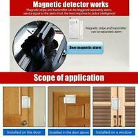 433Mhz Wireless Home Security Door Window Magnetic Sensor Free System Alarm B8J9