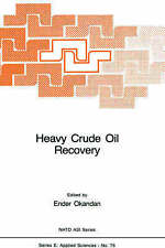 NEW Heavy Crude Oil Recovery (NATO Science Series E: Applied Science, No. 76)