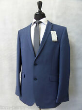 Men'S blue slim fit Occasioni Vestito 2 PEZZI 44r w38 l31 cc1932