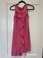 Red Valentino Pink Fuschia Dress Spanish Ruffles Detaila