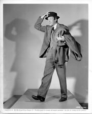 Harvey original 8x10 1950 photo James Stewart full length pose snipe on verso