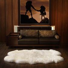 Windward IVORY Superior Soft Luxury Quad Sheepskin Rug 180x110cm