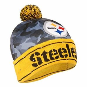 Pittsburgh Steelers Battery Powered Light Up Beanie Knit Hat