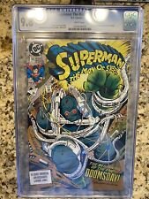 Superman The Man of Steel 18 DC CGC 9.8 1st Full Appearance Doomsday