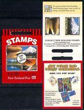 New Zealand 1999 Scenic/Mountain 10v s/a bklt n15958b