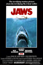 Jaws (1975) Collections Movie Poster Print 24x36 Shark Steven Spielberg