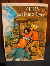 J.C.Deret -B.Rose 1974 - Gilles aux Champs Elysées
