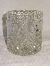 Heavy Crystal Glass Decorative Conatiner