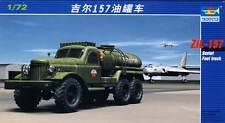 Trumpeter - Russo AUTOCARRO ZiL-157 Camion Cisterna FUEL 1:72 modello KIT