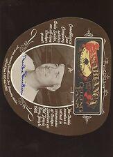 Casablanca Ceiling Fans Advertiement Duke Snider Autographed Hologram