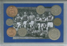 Ipswich Town ITFC Vintage League Champions Alf Ramsey Retro Coin Gift Set 1962