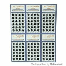 5mm Doll Clothes Sew On Black Brass Snaps Press Stud Fasteners Buttons 144 Sets