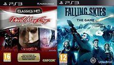 Devil May Cry HD Collection Usado & cayendo cielos el juego Nuevo Sellado PAL +