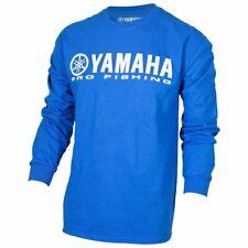 Yamaha OEM Pro Fishing 100% Cotton Long Sleeve Blue T-Shirt XX-Large