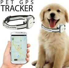 GPS Tracker for dog cats pets collar attachment locator waterproof smartphone