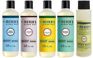 Mrs. Meyer's Clean Day Assorted Body Wash, Rain Water, Lavender, Lemon 16 oz ✔️