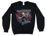Iron Maiden Trooper Black Crew Neck Sweatshirt New Official Band Merch