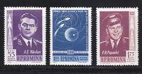 Romania 1962 MNH Sc C123-C125 Mi 2096-2098 1st Russian group space flight **