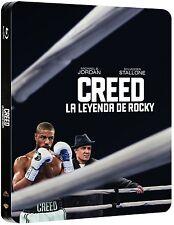 CREED LA LEYENDA DE ROCKY BLU RAY EDICION METALICA NUEVO ( SIN ABRIR ) STEELBOOK
