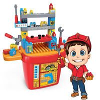 Pretend Play  tool Builder Block Set Tool toddler assembly 46 pcs  Toy Chef NEW