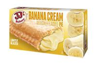 JJ's Bakery Lightly Glazed Banana Cream Pie (12 Pack) Shipped Free in the USA