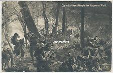 AK Die erbitterten Kämpfe im Argonner Wald-Feldpost 1.WK (351)
