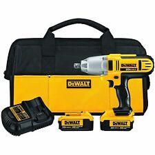 "DEWALT DCF889HM2 20V MAX Li-Ion 1/2"" High Torque Impact Wrench Kit"