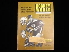 March 1969 Hockey World Magazine - Boston Bruins Cover