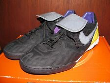 Nike Mens Air Zoom Tiempo TZ LAF Livestrong Black Athletic Shoes Size 12 375983