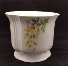 More details for royal winton large planter yellow floral house plant pot staffordshire england