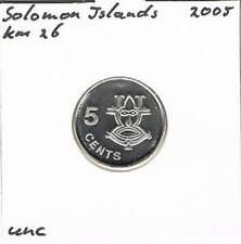 Solomon Islands 5 cents 2005 UNC - KM26 (ml018)