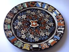 ANCIEN PLAT THUN THOUNE SUISSE diamètre 32 cm Thuner Majolika