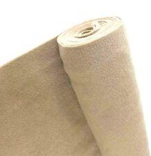 5 Yards TAN Upholstery Un-Backed Trim Automotive Carpet 40
