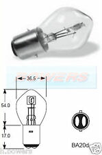 LUCAS LLB396 12V VOLT 45/40W BA20D DOUBLE CONTACT LIGHT BULB BAYONET FITTING
