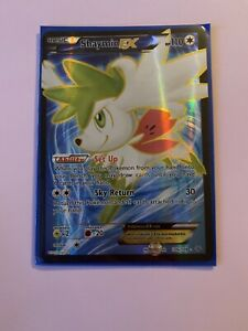 Shaymin EX Full Art Roaring Skies 106/108 Near Mint