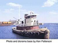 WALTHERS CORNERSTONE HO SCALE RAILROAD TUGBOAT KIT KIT 933-3153
