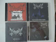 Mayhem Deathcrush / De Mysteriis Dom Sathanas / Wolf's lair abyss / Chimera