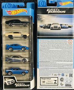 hot wheels Fast & Furious 5 Pack (SALE)