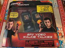 NEW in Box -Spy Gear Spy Video Walkie Talkies 2-way Audio & Video Kids Toy RARE!