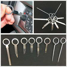 8 Pcs/Set Metal Autos Stereo CD Radio Audio Release Key Removal Tools Universal