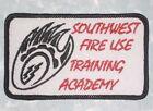 "Southwest Fire Use Training Academy Patch - FUTA - 4"" x 2 3/8"""