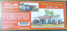 "JL Innovative Design #591 Marble Rock Garage -- Kit - 5-3/8 x 7-3/8"" 13.7 x 18.7"