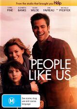 People Like Us * NEW DVD * Michelle Pfeiffer Elizabeth Banks Olivia Wilde