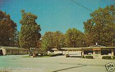Bull Shoals Arkansas Mar - Mar Motel Ozarks Vintage Pc 1973